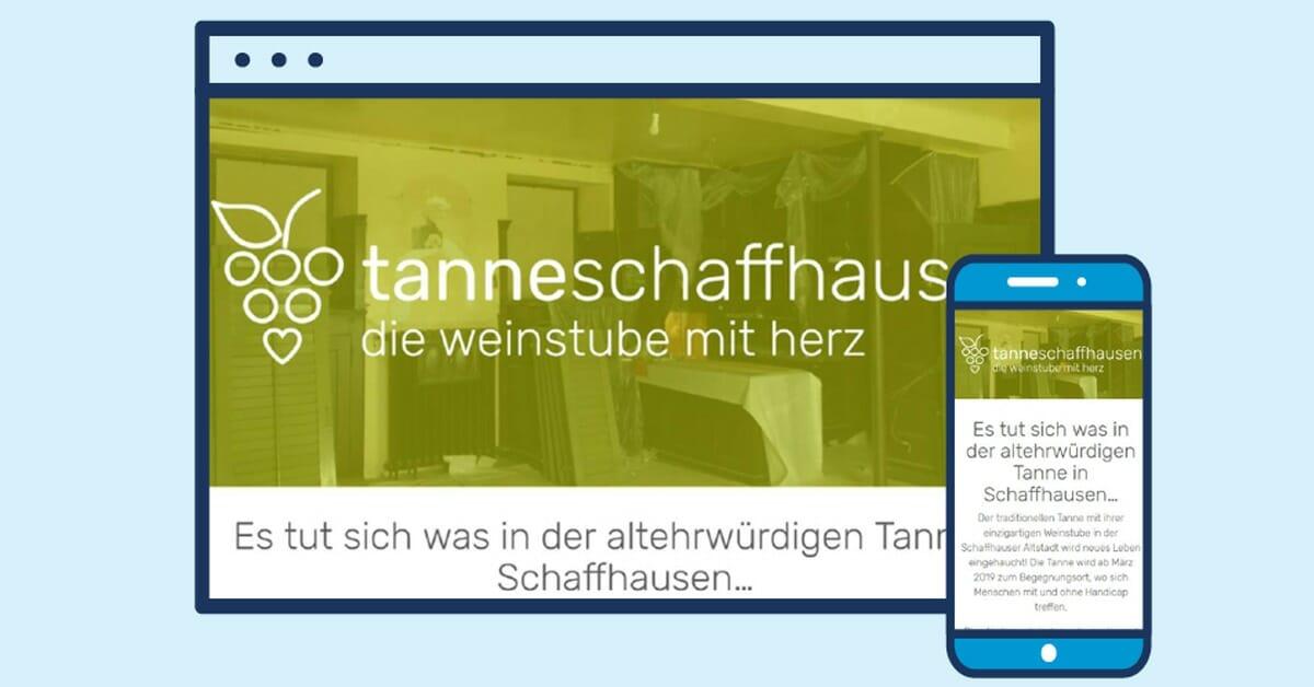 Es tut sich was in der altehrwürdigen Tanne in Schaffhausen… Thumbnail