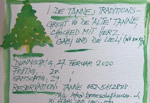 """Traditionsgricht vo de """"alte"""" Tanne Thumbnail"""