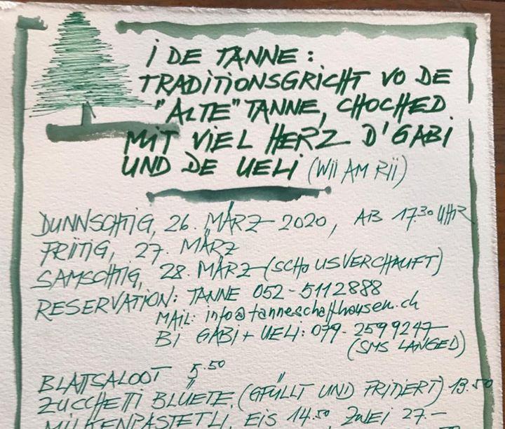 "Traditionsgricht vode ""alte tanne"" by Gabi & Ueli Thumbnail"
