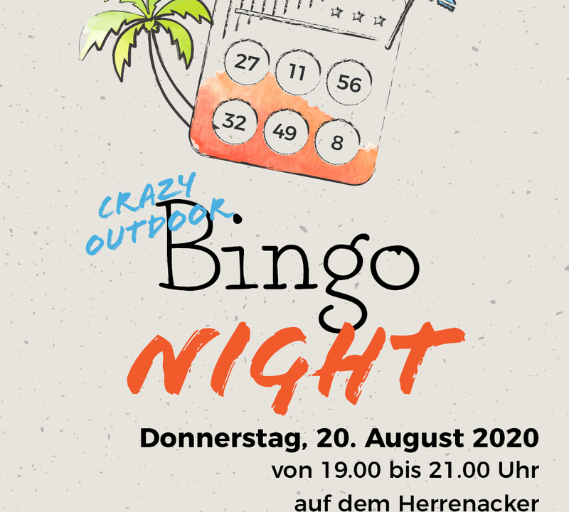 Gatsby presents: Crazy outdoor Bingo Night Thumbnail